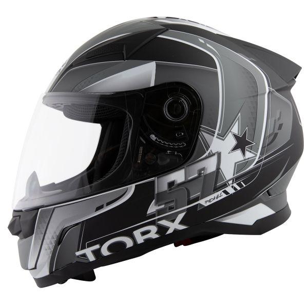 Full Face Torx Billy 2 57 Black Grey