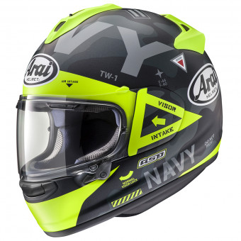 Casque Full Face Arai Chaser X Navy Black