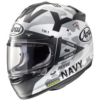 Casque Full Face Arai Chaser X Navy White
