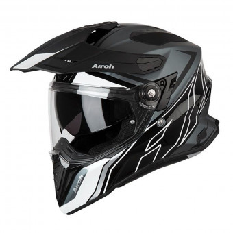 Casque Full Face Airoh Commander Duo Black White