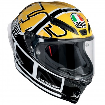 Casque Full Face AGV Corsa R Top Rossi Goodwood