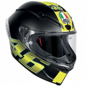 Casque Full Face AGV Corsa R Top VR46 Matt Black