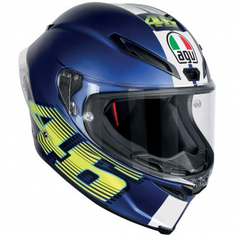 Casque Full Face AGV Corsa R Top VR46 Matt Blue