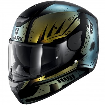 Casque Full Face Shark D-Skwal Dharkov Mat KGX