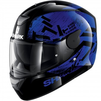 Casque Full Face Shark D-Skwal Hiwo KBK