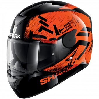 Casque Full Face Shark D-Skwal Hiwo KOK