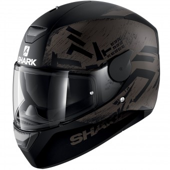 Casque Full Face Shark D-Skwal Hiwo Mat KAK
