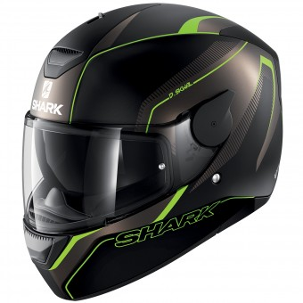 Casque Full Face Shark D-Skwal Rakken Mat KAG