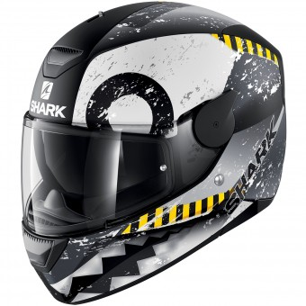 Casque Full Face Shark D-Skwal Saurus Mat KWA