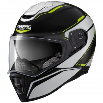 Casque Full Face Caberg Drift Tour Black Yellow Fluo