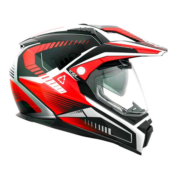 Helmet Torx Dundee V Red Ready To Ship Icasquecouk