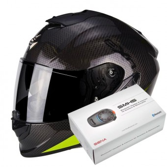 Casque Full Face Scorpion Exo 1400 Air Carbon Pure Neon Yellow