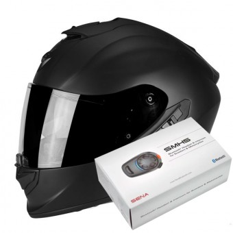Casque Full Face Scorpion Exo 1400 Air Matt Black