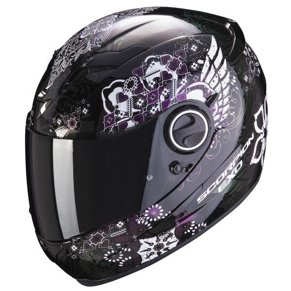 Full Face Scorpion Exo 490 Divina Black Chameleon