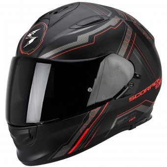 Casque Full Face Scorpion Exo 510 Air Sync Matte Black Neon Red