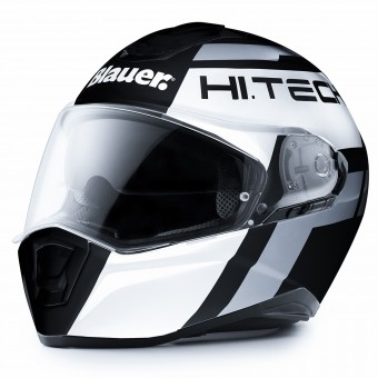 Casque Full Face Blauer Force One 800 Black White Grey