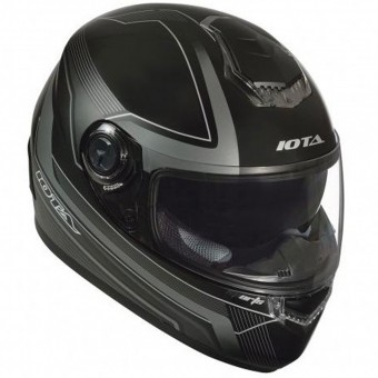 Casque Full Face IOTA FP09 Black Matt Titan