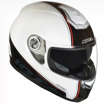 Casque Full Face IOTA FP09 White Red