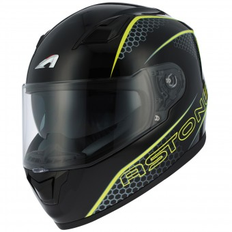 Casque Full Face Astone GT 900 Pulse Yellow