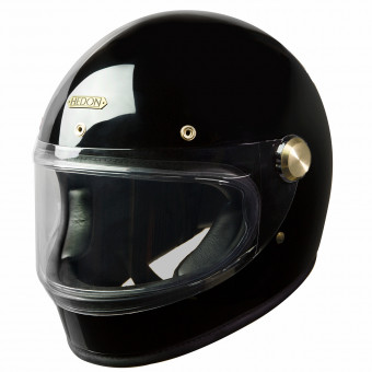 Casque Full Face HEDON Heroine Racer Signature Black