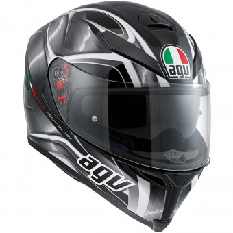 Casque Full Face AGV K-5 S Hurricane Black Gunmetal