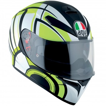 Casque Full Face AGV K3 SV Avior Matt White Lime