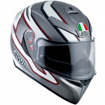 Casque Full Face AGV K3 SV Mizar Dark Grey White