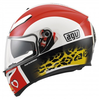 Casque Full Face AGV K3 SV Replica Simoncelli
