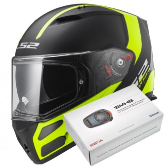 Casque Full Face LS2 Metro Evo Solid Black FF324