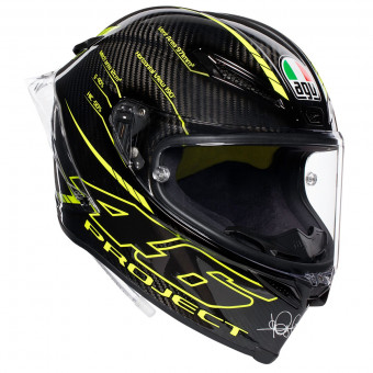 Casque Full Face AGV Pista GP R Project 46 3.0 Carbon