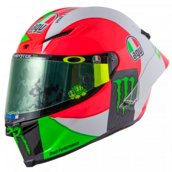 Casque Full Face AGV Pista Gp R Rossi Mugello 2018
