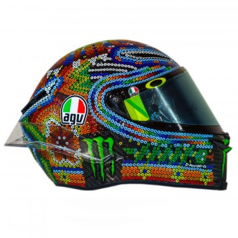Casque Full Face AGV Pista GP R Rossi Winter Test 2018