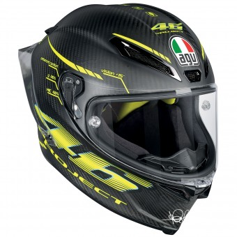 Casque Full Face AGV Pista GP R Top Project 46 2.0 Carbon Matt