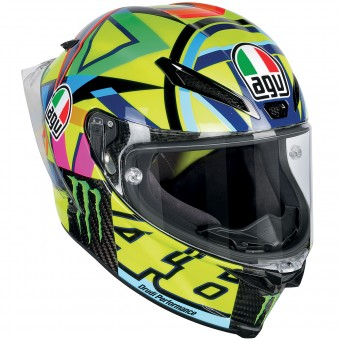 Casque Full Face AGV Pista GP R Top Soleluna Carbon 2016