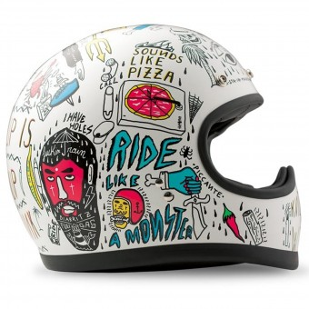 Casque Full Face Dmd Racer Tribal
