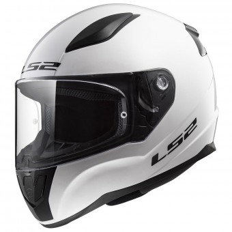 Casque Full Face LS2 Rapid Solid White FF353
