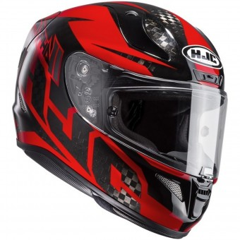 Casque Full Face HJC RPHA 11 Carbon Lowin MC1