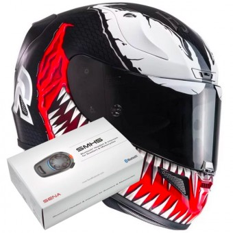 Casque Full Face HJC RPHA 11 Marvel Venom MC1
