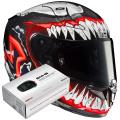 Pack RPHA 11 Venom II Marvel MC1 + Kit Bluetooth Sena SMH5