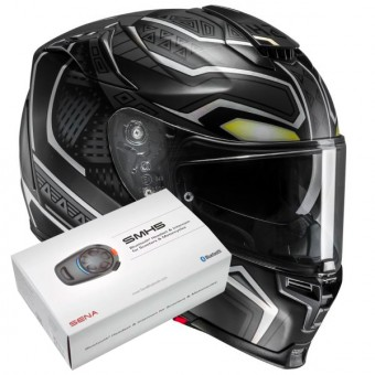 Casque Full Face HJC RPHA 70 Forvic Black Panther Marvel MC5SF