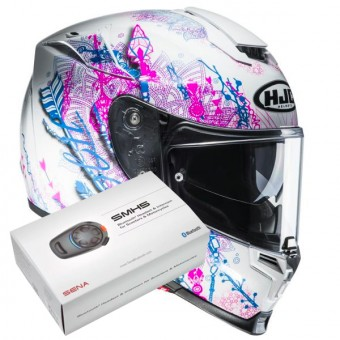 Casque Full Face HJC RPHA 70 Hanoke MC8