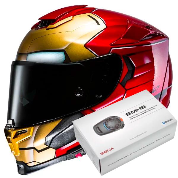Helmet Hjc Rpha 70 Iron Man Ready To Ship Icasquecouk