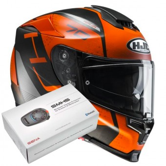 Casque Full Face HJC RPHA 70 Vias MC7SF