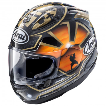 Casque Full Face Arai Rx-7 V Pedrosa Spirit Gold