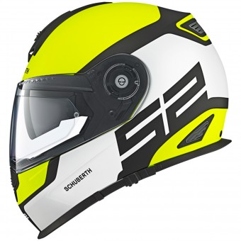 Casque Full Face Schuberth S2 Sport Yellow Fluo