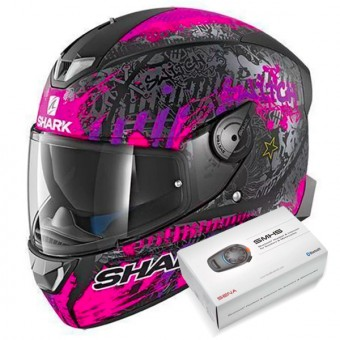 Casque Full Face Shark Skwal 2 Replica Switch Riders 2 Mat KVV