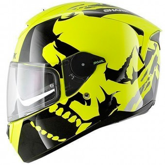 Casque Full Face Shark Skwal Instinct High-Visibility YKY