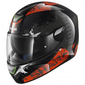 Casque Full Face Shark Skwal Trooper KOW