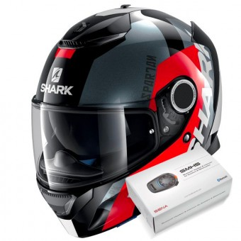 Casque Full Face Shark Spartan Apics KRA