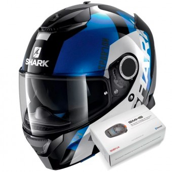 Casque Full Face Shark Spartan Apics KWB